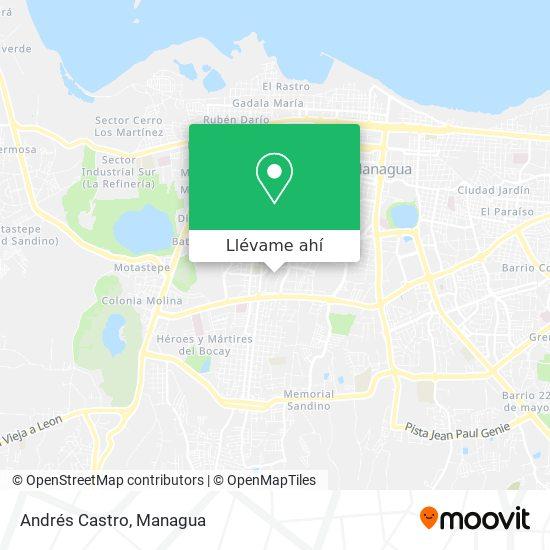 Mapa de Andrés Castro
