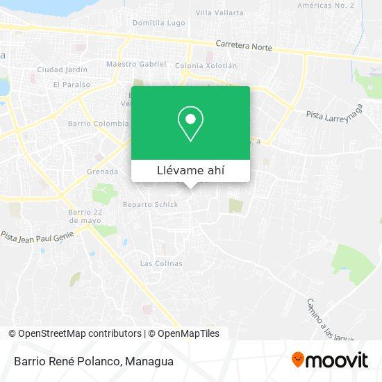 Mapa de Barrio René Polanco