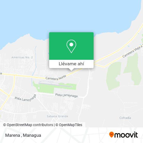 Mapa de Marena