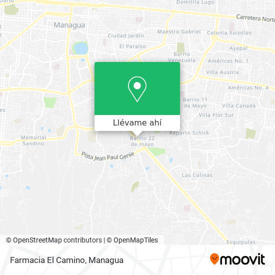 Mapa de Farmacia El Camino