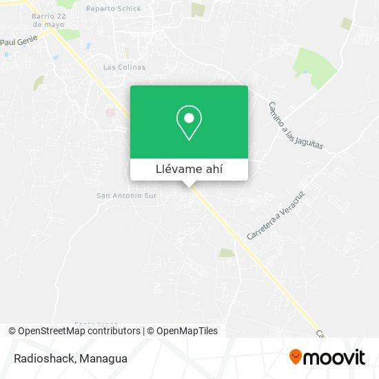 Mapa de Radioshack