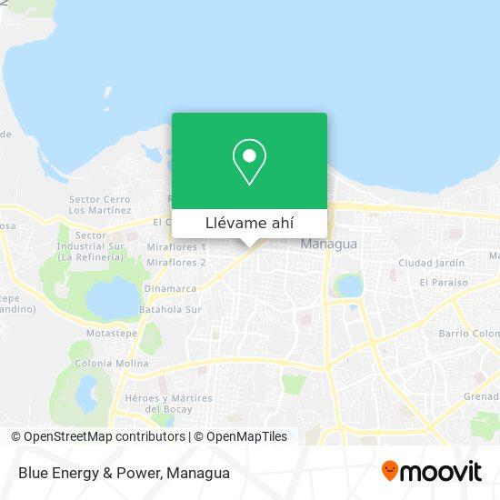 Mapa de Blue Energy & Power