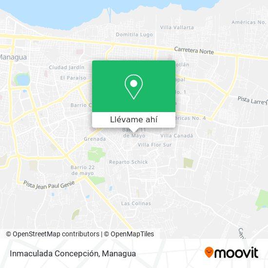 Mapa de Inmaculada Concepción