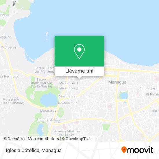 Mapa de Iglesia Catolica