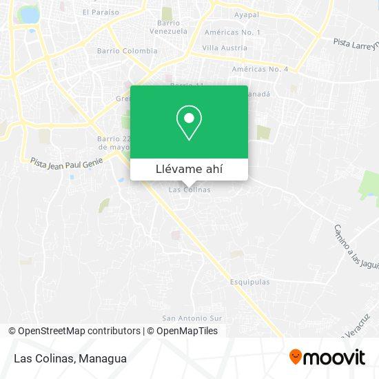 Mapa de Las Colinas