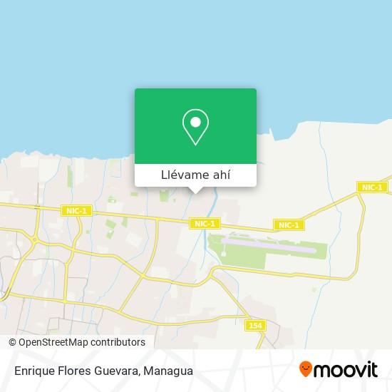 Mapa de Enrique Flores Guevara