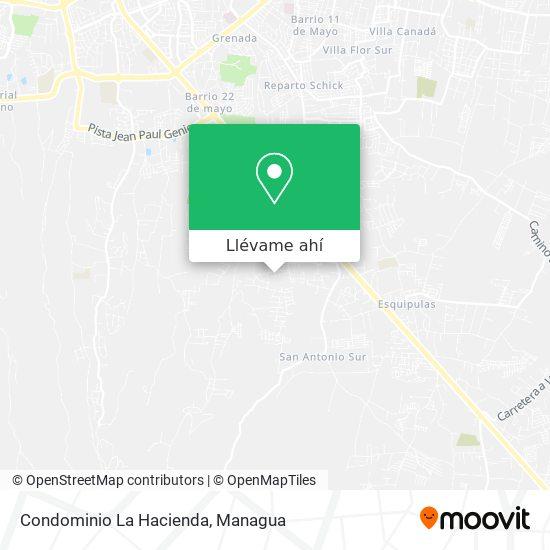 Mapa de Condominio La Hacienda