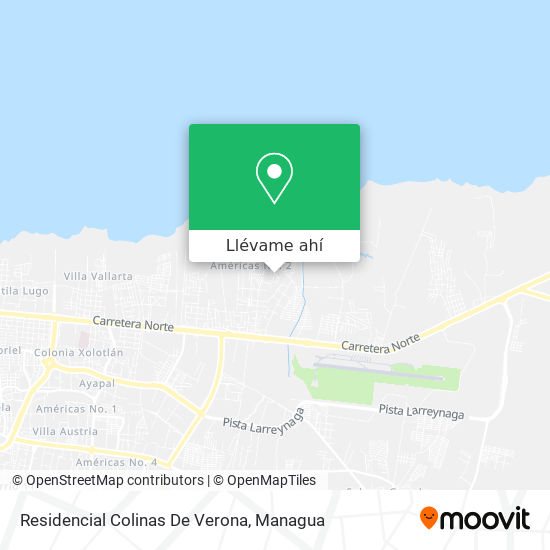 Mapa de Residencial Colinas De Verona