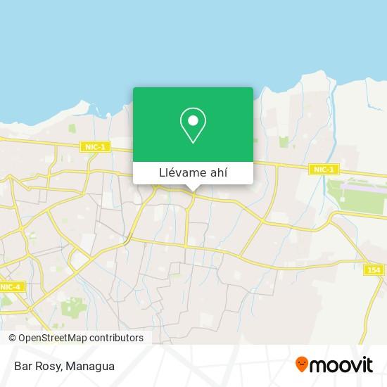 Mapa de Bar Rosy