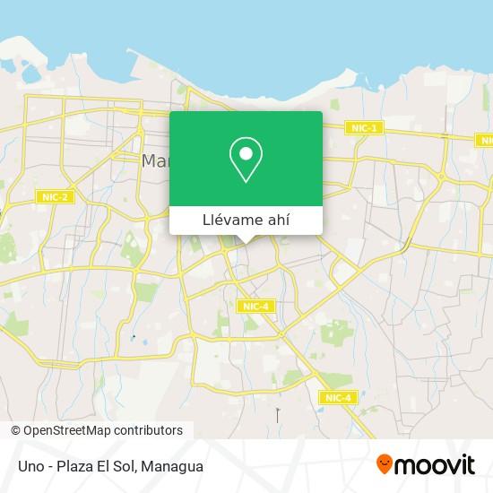 Mapa de Uno - Plaza El Sol