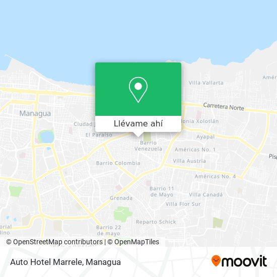 Mapa de Auto Hotel Marrele