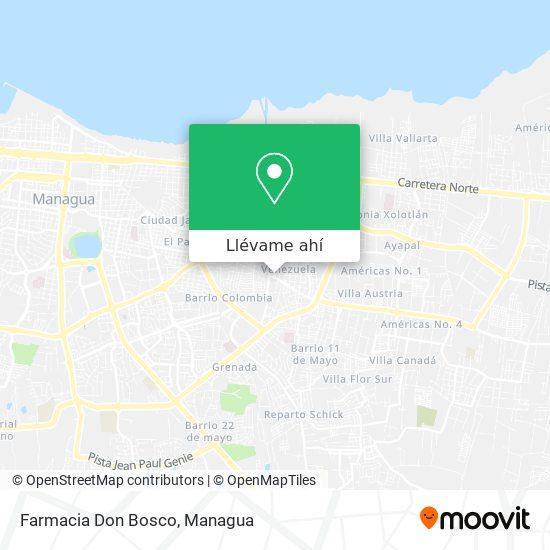 Mapa de Farmacia Don Bosco