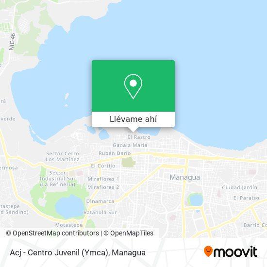 Mapa de Acj - Centro Juvenil (Ymca)
