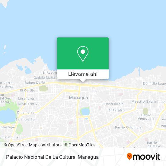 Mapa de Palacio De La Cultura