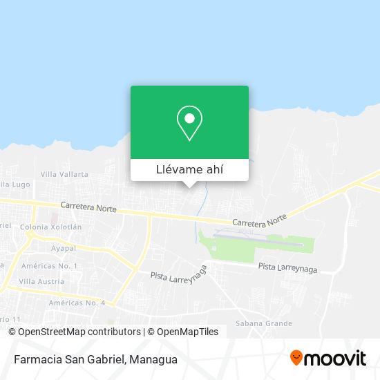 Mapa de Farmacia San Gabriel