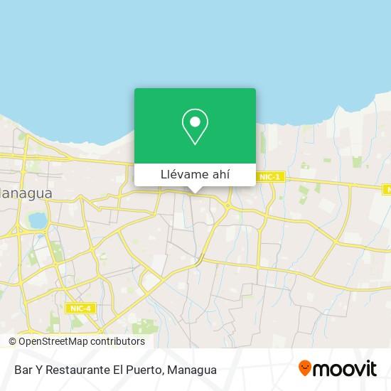 Mapa de Bar Y Restaurante El Puerto