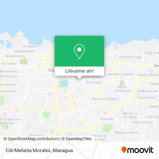 Mapa de Cdi-Melania Morales