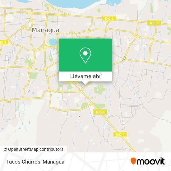 Mapa de Tacos Charros