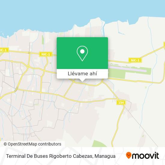 Mapa de Terminal De Buses Rigoberto Cabezas