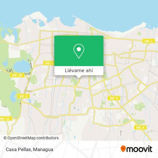 Mapa de Casa Pellas