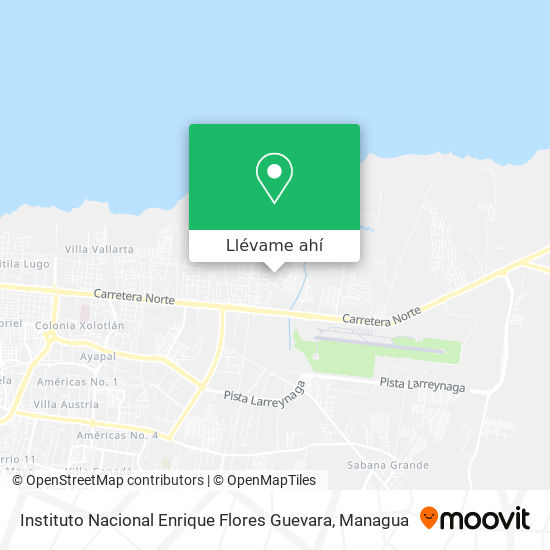 Mapa de Enrique Flores (Modesto Armijo)