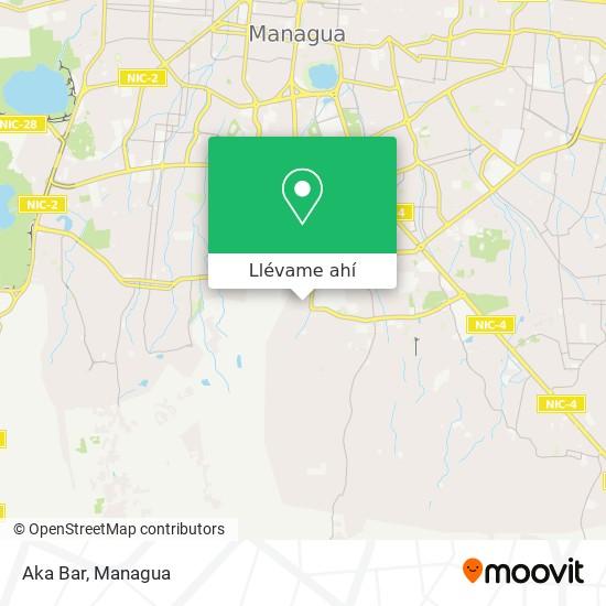 Mapa de Aka Bar