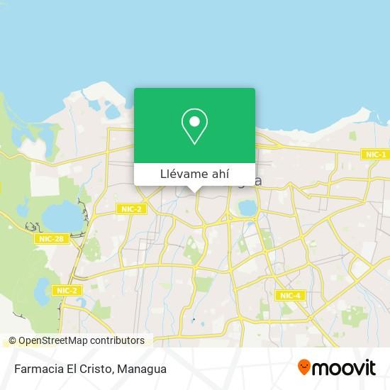 Mapa de Farmacia El Cristo