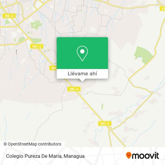 Mapa de Colegio Pureza De Maria