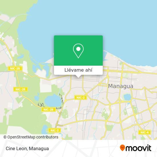 Mapa de Cine Leon