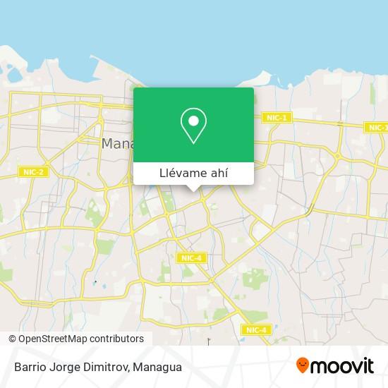 Mapa de Barrio Jorge Dimitrov