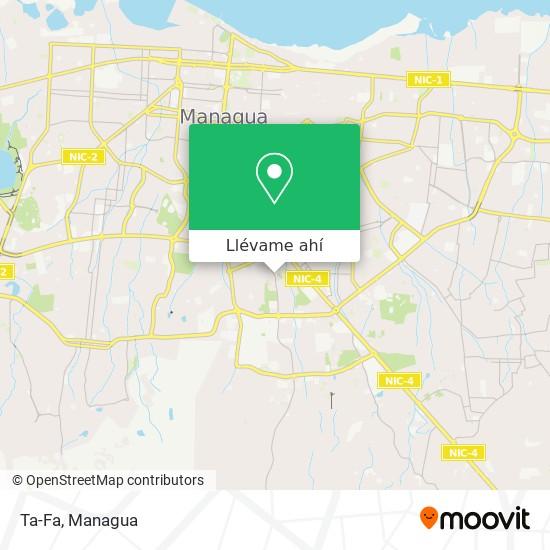 Mapa de Tafa