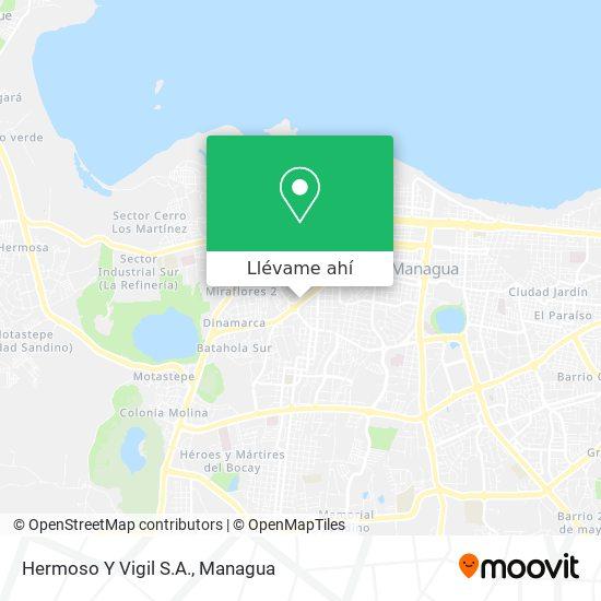 Mapa de Hermoso Y Vigil S.A.