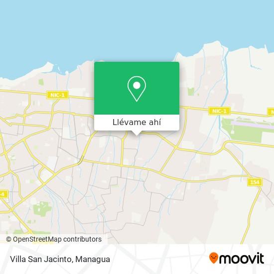 Mapa de Villa San Jacinto