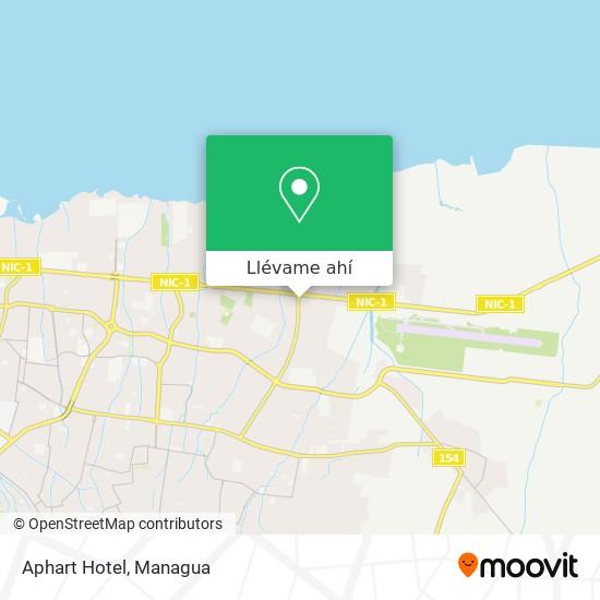 Mapa de Aphart Hotel