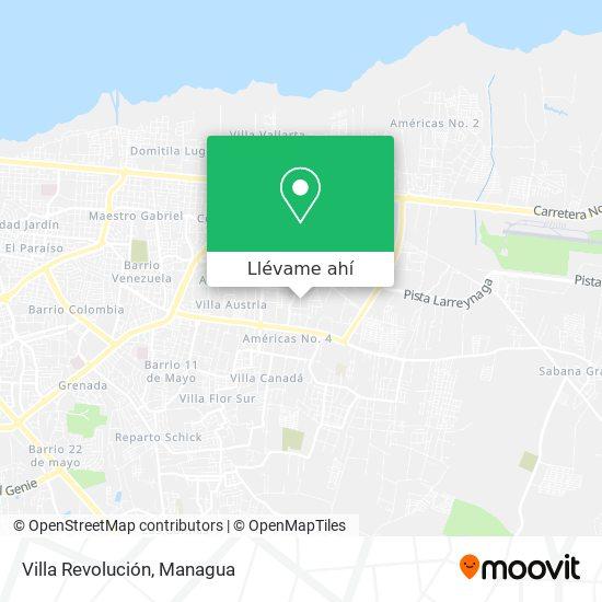 Mapa de Villa Revolución