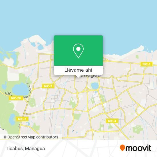 Mapa de Ticabus