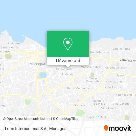 Mapa de Leon Internacional S.A.