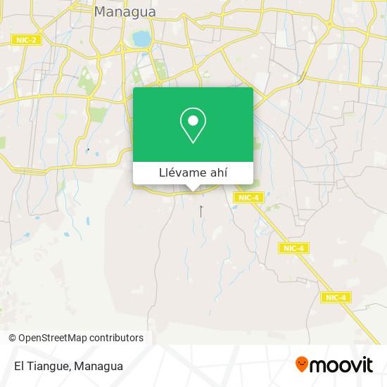 Mapa de El Tiangue