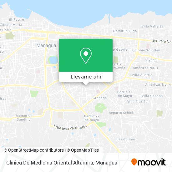 Mapa de Clinica De Medicina Oriental Altamira