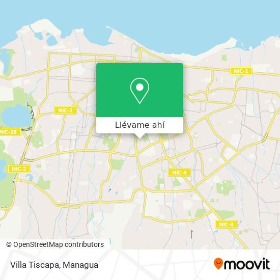 Mapa de Villa Tiscapa