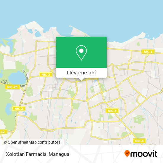 Mapa de Xolotlan Farmacia