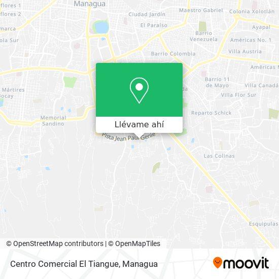 Mapa de Centro Comercial El Tiangue