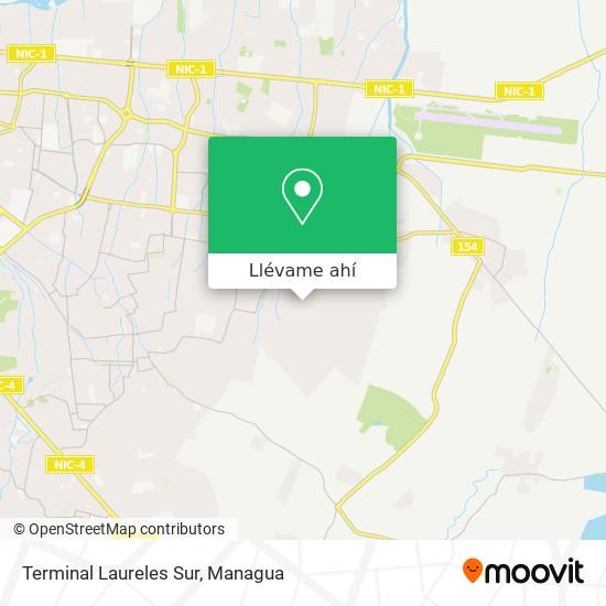 Mapa de Terminal Laureles Sur