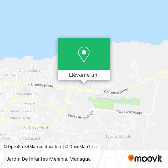 Mapa de Jardin De Infantes Melania