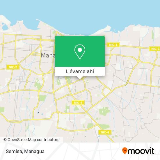 Mapa de Semisa