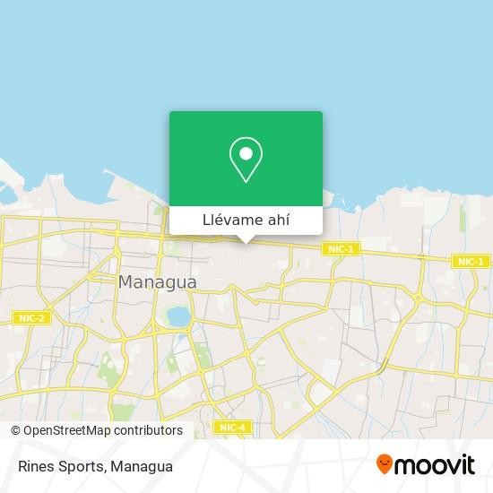 Mapa de Rinos Sports