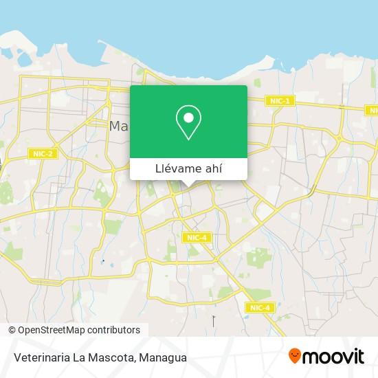 Mapa de Veterinaria La Mascota