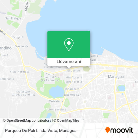 Mapa de Parqueo De Pali Linda Vista
