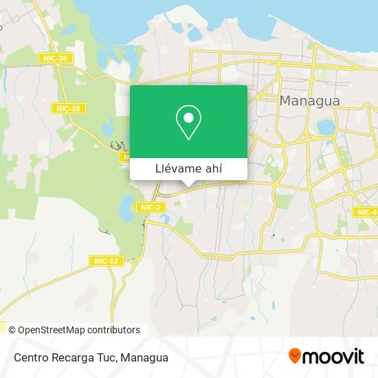 Mapa de Centro Recarga Tuc