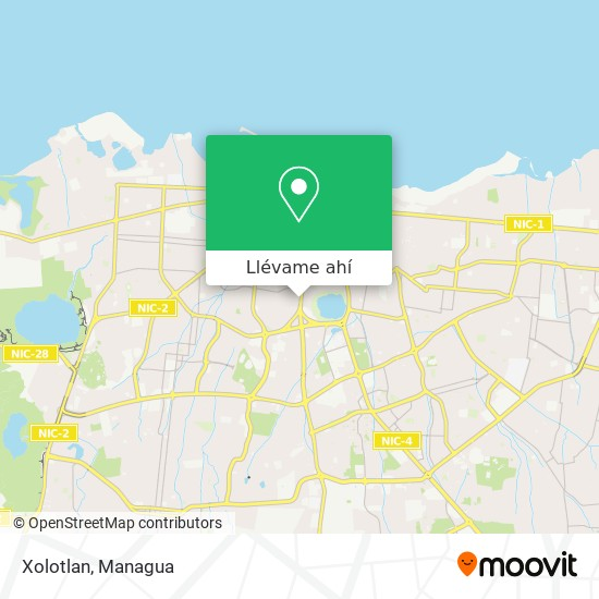 Mapa de Xolotlan